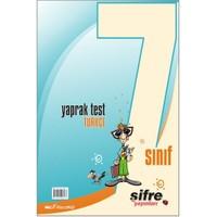 Şifre Yayınları 7. Sınıf Türkçe Yaprak Test