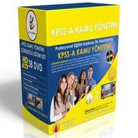 KPSS A Kamu Yönetimi Görüntülü Eğitim Seti 29 DVD + Rehberlik