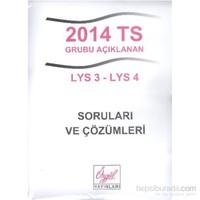Özgül 2014 TS Grubu Açıklanan LYS 3-LYS 4 Soruları ve Çözümleri