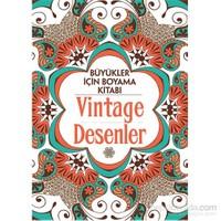 Vintage Desenler – Büyükler İçin Boyama Kitabı - Claire Cater