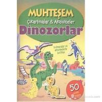 Muhteşem Çıkartmalar Aktiviteler Dinozorlar-Kolektif