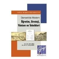 Osmanlı'da Modern Öğretim Strateji Yöntem Ve Teknikleri