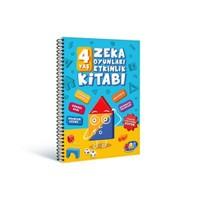 Pal 4 Yaş Zeka Oyunları Etkinlik Kitabı