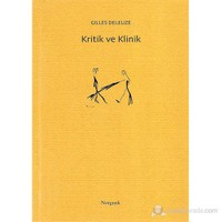 Kritik Ve Klinik-Gilles Deleuze
