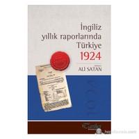 İngiliz Yıllık Raporlarında Türkiye 1924-Kolektif