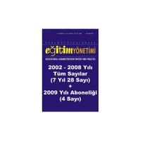 Kuram Ve Uygulamada Eğitim Yönetimi (2002-2008 Tüm Sayıarı + 2009 Yılı Aboneliği)
