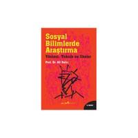 Sosyal Bilimlerde Araştırma - Ali Balcı