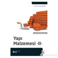 Yapı Malzemesi – 2 (70 Şekil – 40 Tablo ile Desteklenmiş)
