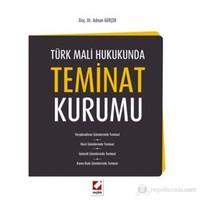Türk Mali Hukukunda Teminat Kurumu