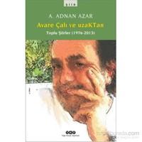 Avare Çalı Ve Uzaktan - Toplu Şiirler (1976-2013)-A. Adnan Azar