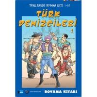 Türk Denizcileri 1 - Boyama Kitabı
