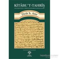 Kitâbu'T Tahrîş-Dırar B. Amr