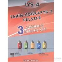 Palme LYS-4 Tarih-Coğrafya-2-Felsefe Çözümlü Deneme Seti