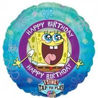 Parti Paketi Sponge Bob Müzikli Folyo Balon