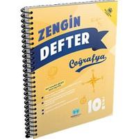 Sözün Özü Yayınları 10.Sınıf Coğrafya Zengin Defter