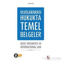 Uluslararası Hukukta Temel Belgeler Basic Documents In International Law