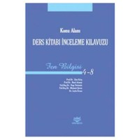 Konu Alanı Ders Kitabı İnceleme Kılavuzu Fen Bilgisi 4-8