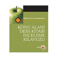 Konu Alanı Ders Kitabı İnceleme Kılavuzu