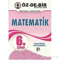 Özdebir 6.Sınıf Matematik Konu Özetli Soru Bankası