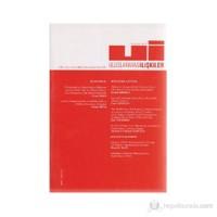 Uluslararası İlişkiler Dergisi Cilt: 2 Sayı 8