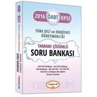 Yediiklim Öabt 2016 Türk Dili Ve Edebiyat Öğretmenliği Tamamı Çözümlü Soru Bankası