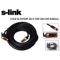 S-Link Sl-Dvı10f 24+1 F/M 10M Dvı Kablosu