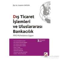Dış Ticaret İşlemleri ve Uluslararası Bankacılık - MYO Müfredatına Uygun