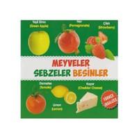 Meyveler, Sebzeler, Besinler (Türkçe-İngilizce)-Kolektif
