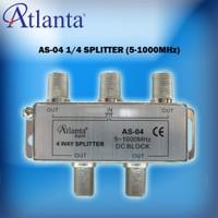 Atlanta AS-04 1/4 Uydu Bölücü (5-1000 MHz)