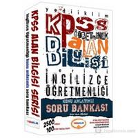 Yediiklim KPSS 2013 ÖABT İngilizce Konu Anlatımlı Soru Bankası