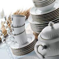 Kütahya Porselen Sedef 12 Parça Kahve Takımı