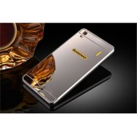 Teleplus Lenovo A7000 Aynalı Metal Kapak Kılıf Gümüş