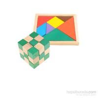 Learning Toys Zeka Küpü ve Tangram Seti