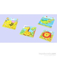 Learning Toys 4'lü Wooden Puzzle Set Paketi