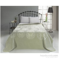 Mink Çift Kişilik Premium Battaniye 616 Yeşil