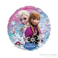 KullanAtMarket Frozen Anna Ve Elsa Kalp Folyo Balon 1 Adet