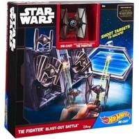 Hot Wheels Star Wars Galaksiler Arası Savaş Oyun Seti Tie Fighter Blastout Battle