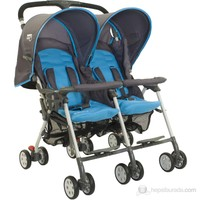Sunny Baby Sb-760 Flamingo İkiz Bebek Arabası / Mavi