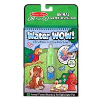 Melissa & Doug Water Wow Su İle Boyama Kitabı Hayvanlar