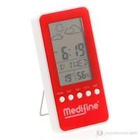 Medifine Nem ve Sıcaklık Ölçer / Kırmızı