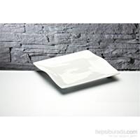 iHouse Gnd-10 Porselen Servis Tabağı Beyaz