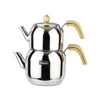 Hisar Çayd.Tk.Monaco Golden -Bahama 6'Lı Çay Bardak Hediyeli