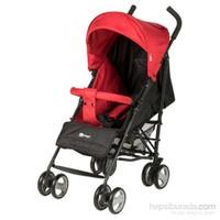 Prego Bruno Baston Bebek Arabası Kırmızı