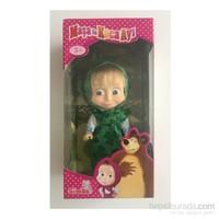 Toyshome Simba Toys Masha Günlük Kıyafetli Oyuncak Bebek 12 Cm ( Yeşil )
