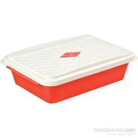 Bager Smartlıne Saklama Kabı 1,35 Lt - Kırmızı