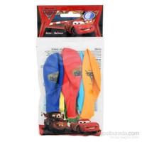 The Cars Poşet İçi 6'Lı Balon (4 Renk Baskılı)