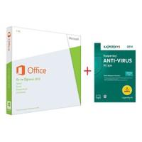 Microsoft Office Ev ve Öğrenci 2013 Kutulu (79G-03759) + Kaspersky Antivirüs 2014 1 Kullanıcı 1 Yıl