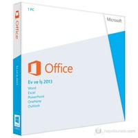 Microsoft Office Ev ve İş 2013 32-bit/x64 Kutulu (T5D-01781)