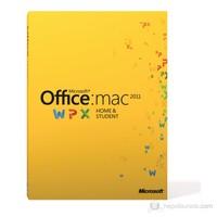 Microsoft Office Mac Ev ve Öğrenci 2011 İngilizce 1 Lisans Kutulu (GZA-00277)