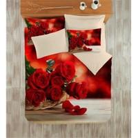 Varol Sevgililer Gününe Özel 3D Nevresim Takımı - Kucak Dolusu